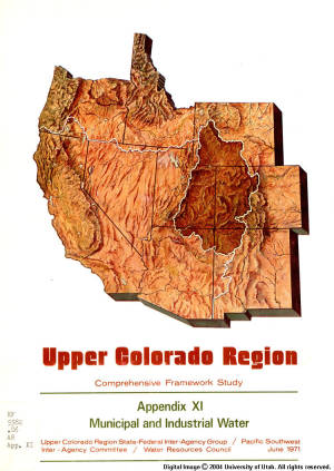 Upper Colorado Region Comprehensive Framework Study
