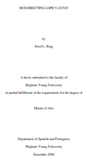 brigham young university theses and dissertations collection in  resurrecting lope s autos
