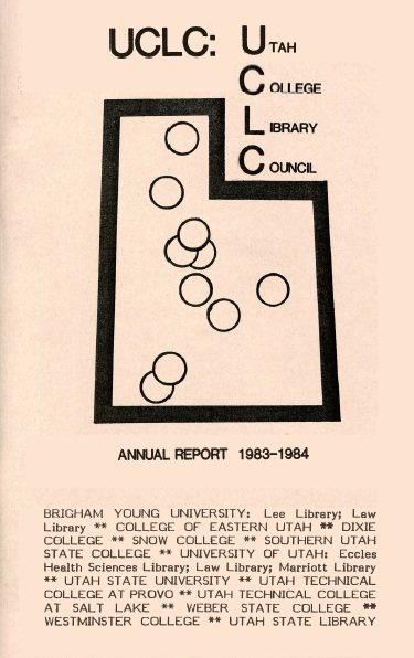 Annual Report. Utah College Library Council. 1983-1984