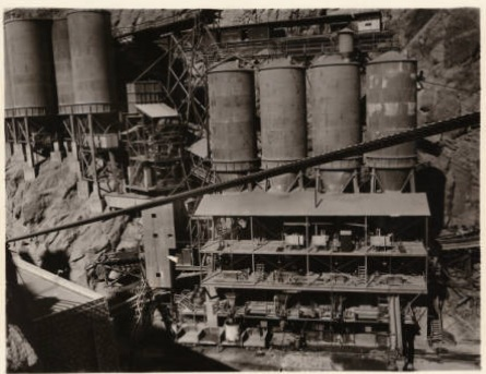 Cement plant -- Hoover Dam site