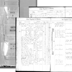 Ogden City Birth Record