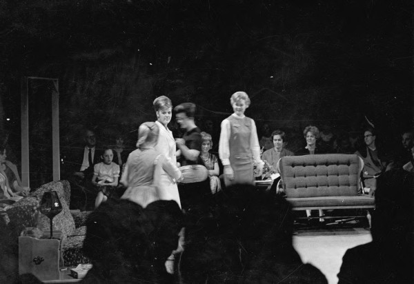 Scene from CSU production of The Bad Seed