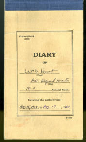 William D. Hurst day planner