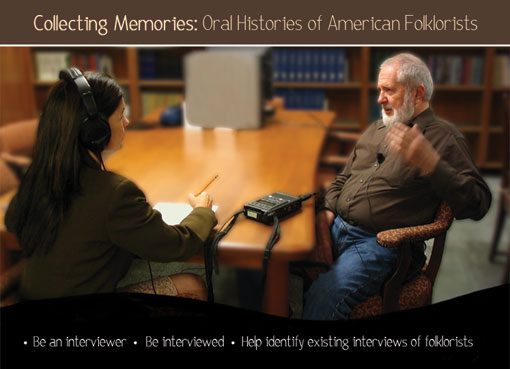 Oral Histories of American Folklorists