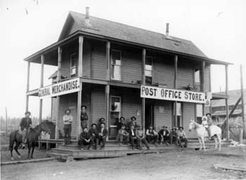 Boise Idaho post office and general store