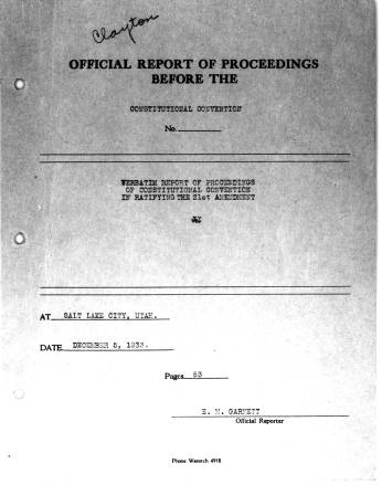 Proceedings reports