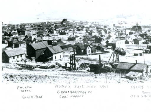Butte's East Side (1891)