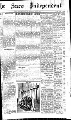 The Saco Independent 1916