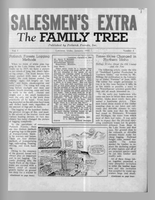 The Family Tree, January 1937