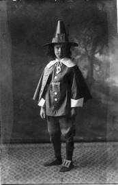 Boy in Pilgrim Costume