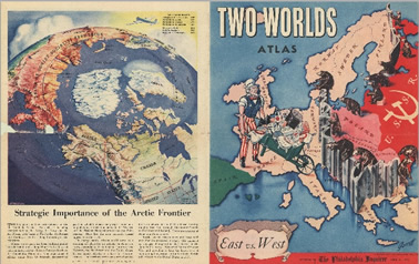 Two worlds atlas : East vs. West
