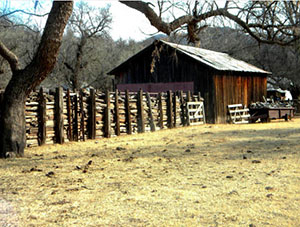 Corral and Barn