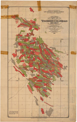 Haff and Colwell Group Map of the Tom Reed Gold Road District, Mohave County Arizona, 1916