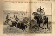 Buffalo Bill's Wild West Scrapbook of Rome, Italy