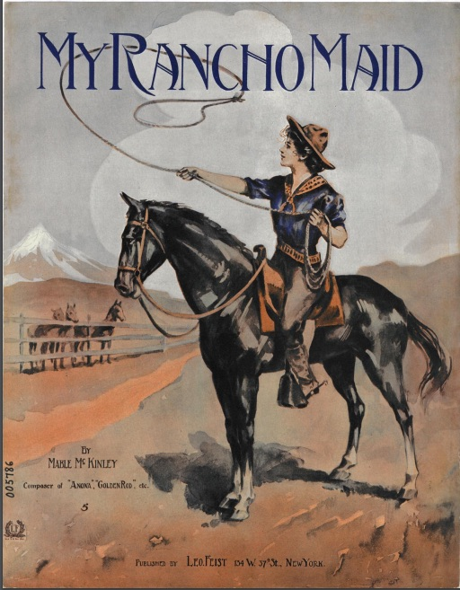 Cover of My Rancho Maid (1908)