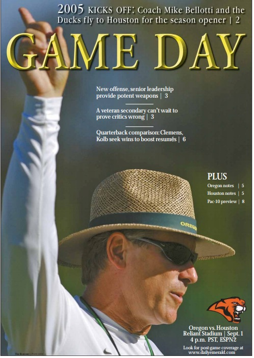 Game Day, September 1, 2005